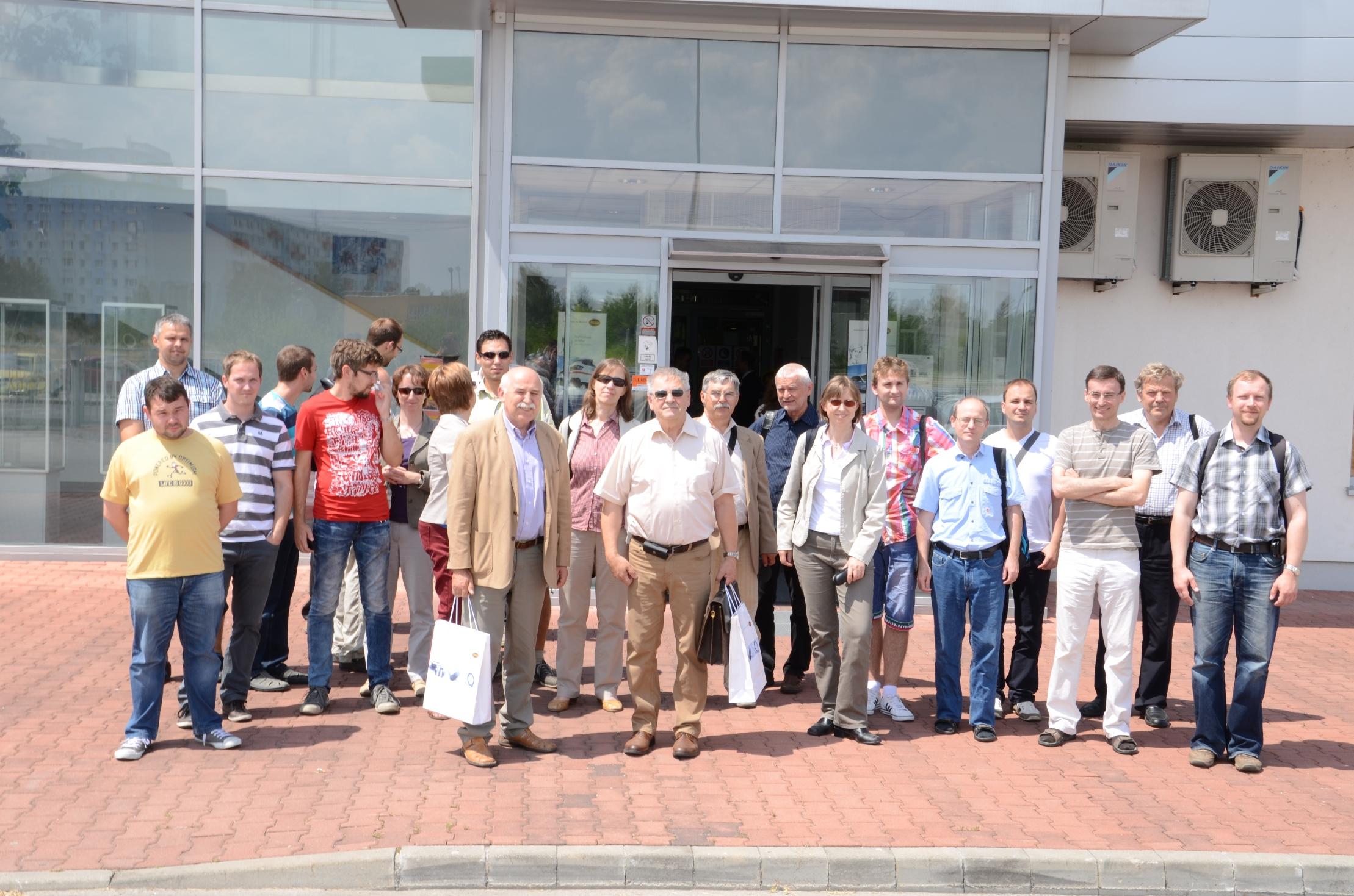Exkurzia MIBA, Vráble (25.6.2014)