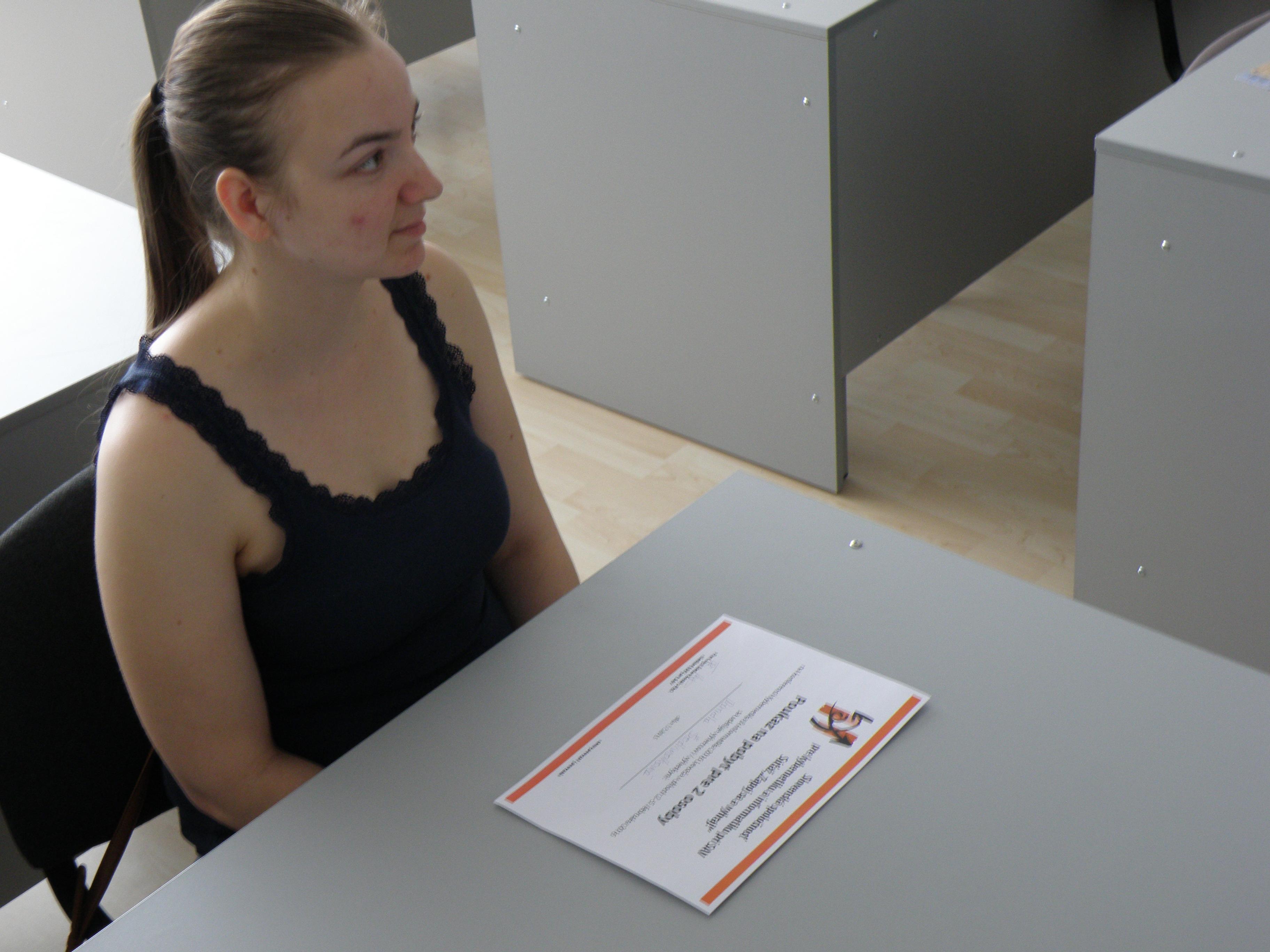 Druhá cena - pobyt v Levoči na konferencii pred 2 osoby